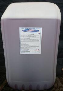 25L Valeters Pride Tfr & Wax A Non Caustic 100:1 Dilution Vehicle Cleaner